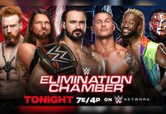WWE: Cartelera final de Elimination Chamber confirmada| FOTOS
