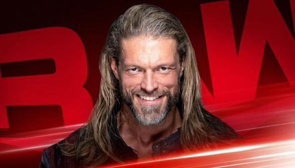 Edge anunció que estará en RAW. (Edge)