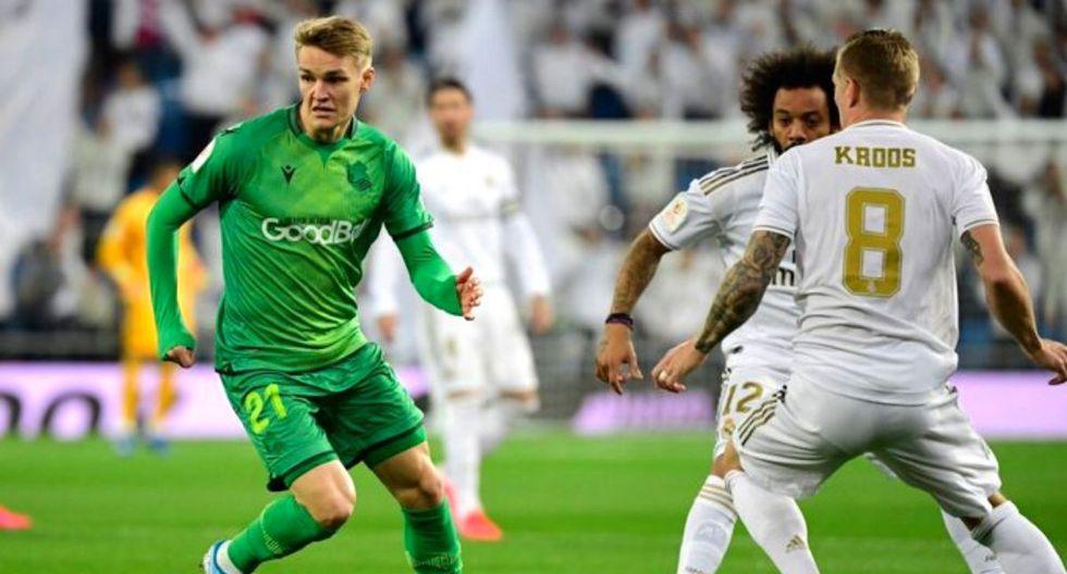 Real Madrid vs  Real Sociedad EN VIVO
