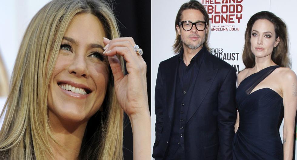 Jennifer Aniston se habría pronunciado por el divorcio de Angelina Jolie y Brad Pitt.