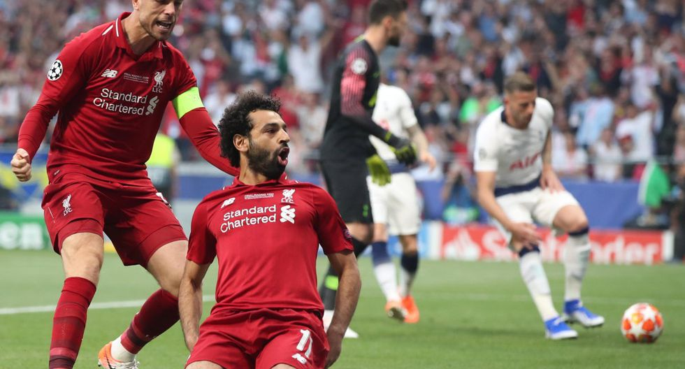 Liverpool campeón de la Champions: Venció 2-0 a Tottenham con GOLAZOS de Salah y Origi