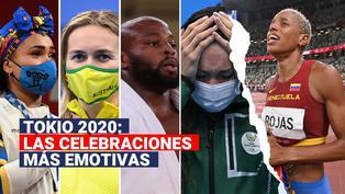Tokio 2020: Las celebraciones más emotivas en lo que va de los Juegos Olímpicos