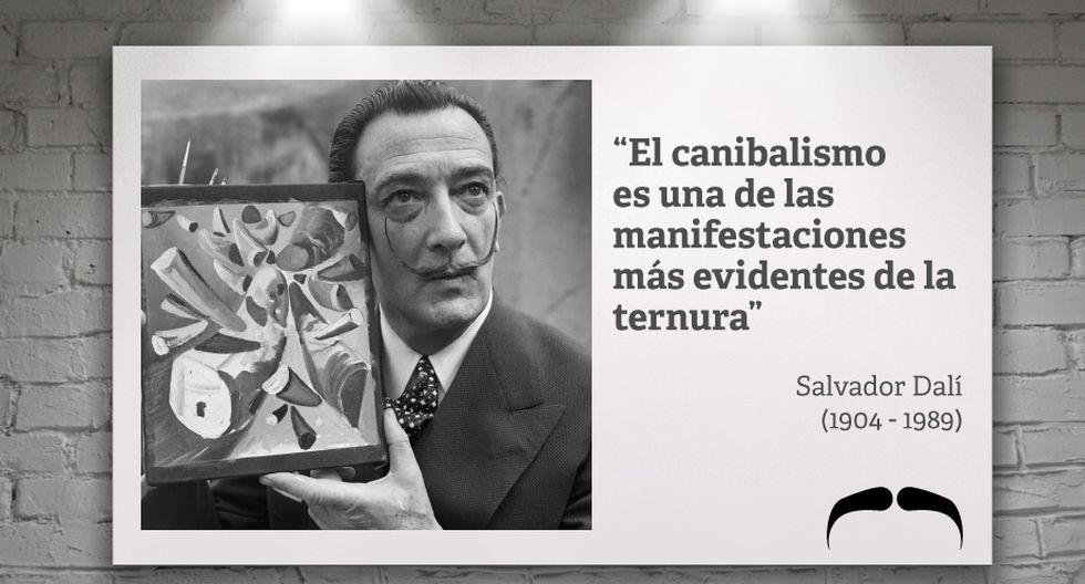 Salvador Dalí 12 Frases Que Nos Dejó El Genio Del
