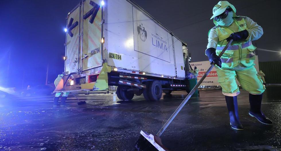 MML realizó trabajos de mantenimiento y desinfección en 140 puentes de la capital en el 2020