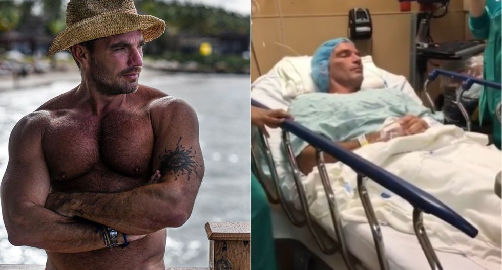 Julián Gil fue operado de emergencia en Miami (Foto: Instagram)