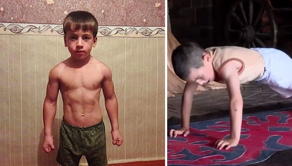 El menor demostró gran fortaleza física y mental. (Foto: East2West/Caters Clips en YouTube)