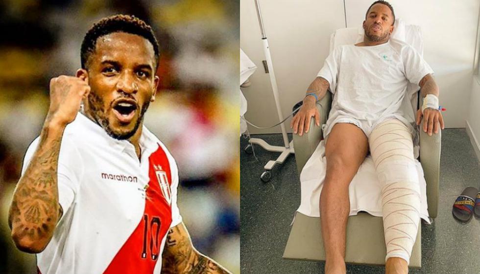 Jefferson Farfán fue operado con éxito y envía motivador mensaje previo al Perú vs Brasil. Foto: Composición con imágenes de Instagram de Jefferson Farfán