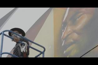 Rinden homenaje a Pelé con un inmenso mural por sus 80 años