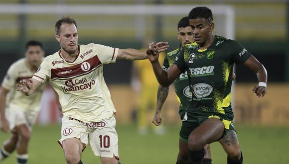 Universitario de Deportes jugará con UTC en el partido postergado de la fecha 3 de la Liga 1. (Foto: AFP)