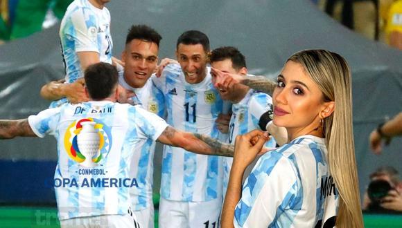 Morena  Beltrán se emociona con 'golpe' de Argentina en el Maracaná (Foto: AP)