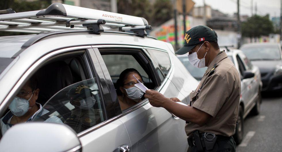 Operativos en diversos puntos de Lima por Estado de Emergencia debido al Coronavirus en el Perú