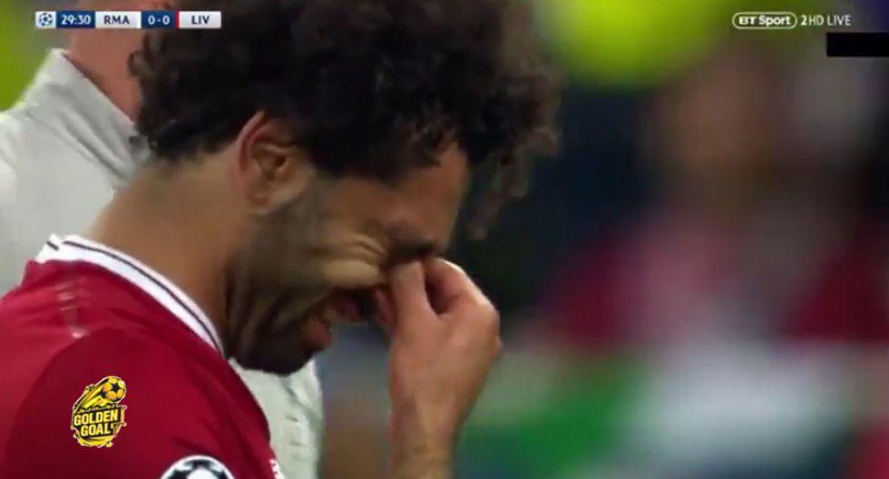 Mohamed Salah lesión