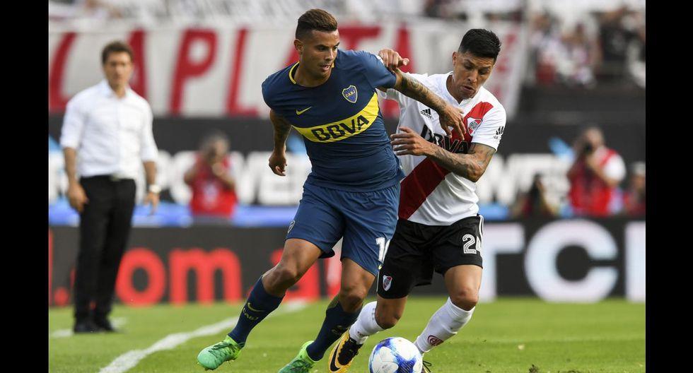 Boca Juniors vs River Plate, superclásico del fútbol argentino
