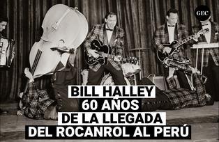 60 años de la llegada de Bill Haley con el Rocanrol al Perú