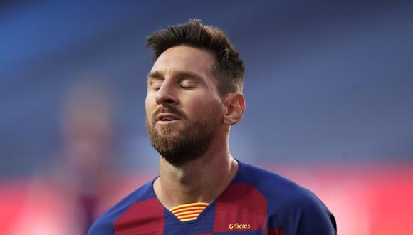Los hinchas de Barcelona protestaron por la goleada sufrida contra Bayern. (Foto: AFP)
