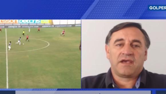 Carlos Bustos, nuevo entrenador de Alianza Lima en conferencia virtual