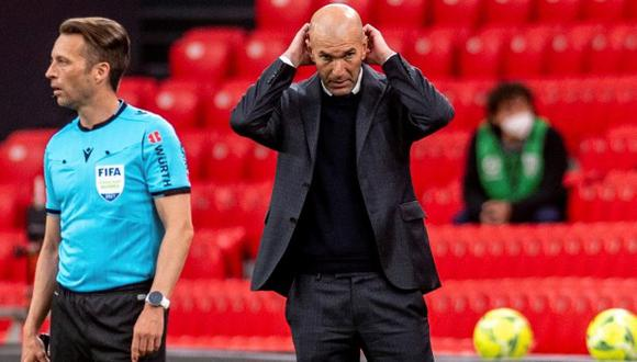 Zinedine Zidane deja el Real Madrid. (Foto: EFE)