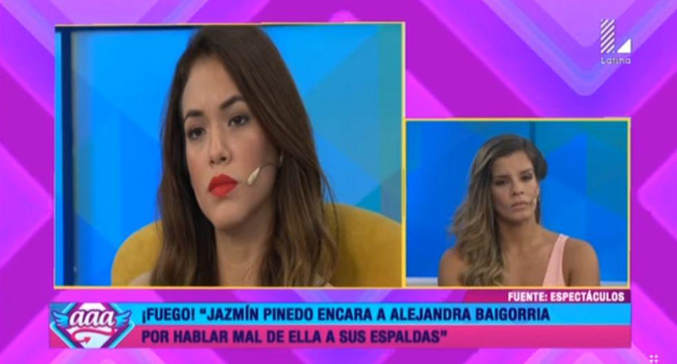 Natalia Otero desmintió que Alejandra Baigorria vaya a ser retirada de 'Espectáculos'.