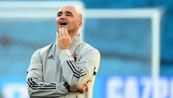 Roberto Martínez es entrenador de Bélgica desde el 2016. (Foto: AFP)
