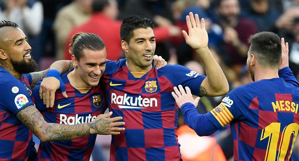 Luis Suárez genera 184 mil dólares por cada post en Instagram. (Foto: AFP)