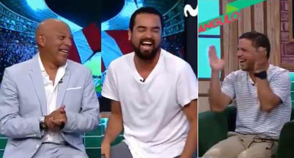 Roberto Mosquera y su pícara broma en vivo a Franco Cabrera que desató carcajadas de Pedro García y los panelistas