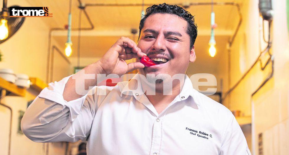 Fransua Robles afirma que todo cocinero debe tener 'el bichito' de la curiosidad. (GEC)