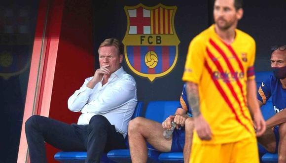Ronald Koeman dio detalles de complicadas negociaciones con Messi y Suárez.