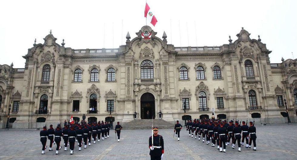 El 'Cambio de Guardia' se realiza este fin de semana con la Policía Nacional y la próxima semana lo realizarán las Fuerzas Armadas. (FOTO: Andina. VIDEO: Isabel Medina / Trome)