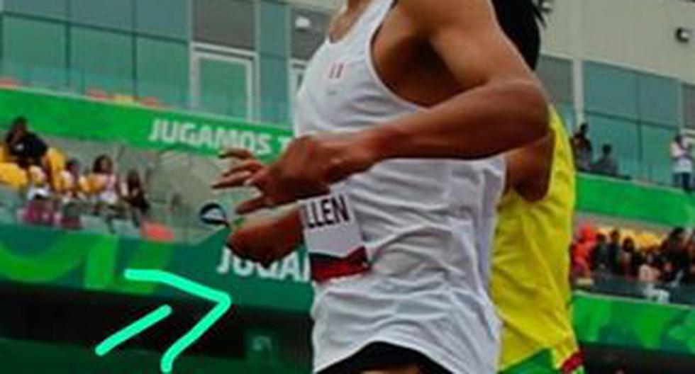 Rosbil Guillén soltó la mano de su guía justo cuando estaba llegando a la meta en los Juegos Parapanamericanos Lima 2019. (Fotos: Violeta Ayasta/GEC)