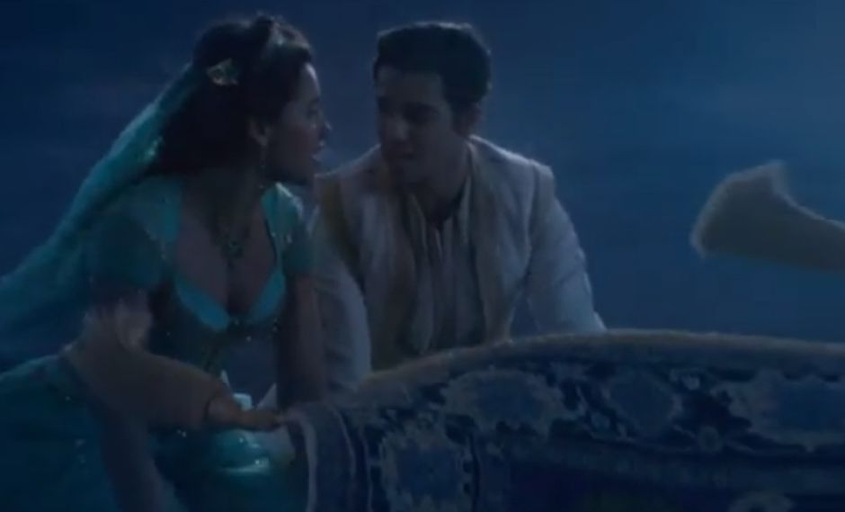 Aladdin cuenta la historia de un joven ladronzuelo que sueña con casarse con Jasmin, la hija del Sultán. (Foto: Captura Disney)