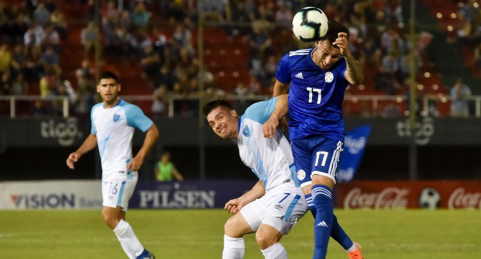 Paraguay vs Guatemala, amistoso internacional por fecha FIFA