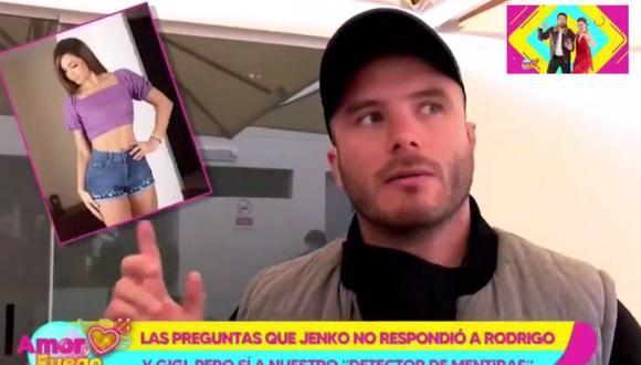 Jenko del Río denuncia que le dejaron carta amenazante por presentarse en programa de Rodrigo González