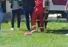 Ica: Hombre intenta quitarse la vida haciéndose Harakiri en cuarentena   VIDEO