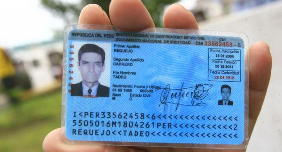 Todo documento de identidad tiene una fecha de caducidad y es de 8 años a partir de la fecha de emisión. El trámite lo puedes realizar en las oficinas de RENIEC o Centros MAC. (Foto: USI)
