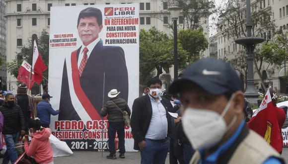 La carta al ministro de Transportes y Comunicaciones, Juan Francisco Silva, fue enviada por dos dirigentes distritales de Perú Libre. (Foto: GEC)
