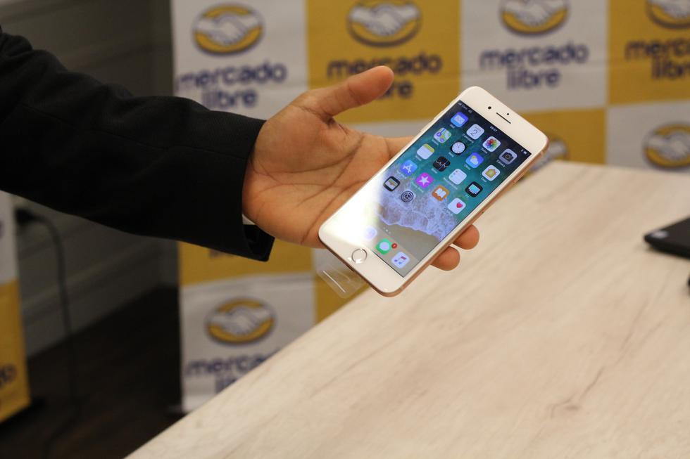 Trome te presenta todas las novedades que trae el iPhone 8 Plus, la nueva generación de smartphones de Apple que ya se vende a través del e-commerce en el país. Fotos: Luis Carnero Bautista.