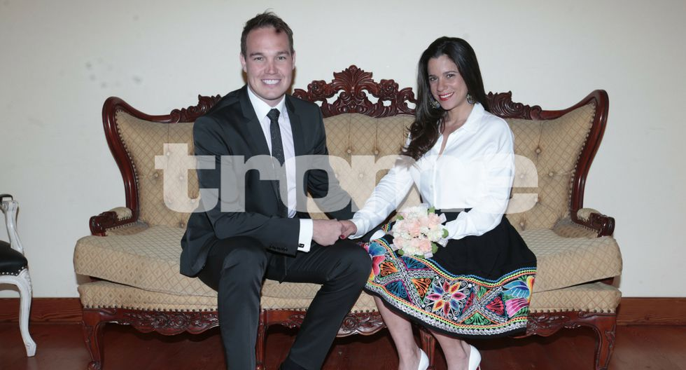 Vanessa Terkes y George Forsyth se casan hoy, en La Victoria. (Fotos: Trome/Kelvin García)