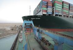 Egipto: Consiguen liberar el buque 'Ever Given' que bloqueaba el Canal de Suez