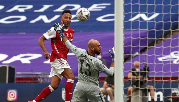 Doblete de Pierre-Emerick Aubameyang en Arsenal vs Chelsea por final de FA Cup