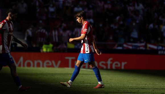 Joao Felix abandonó el campo tras ser expulsado ante Athletic. (Foto: EFE)