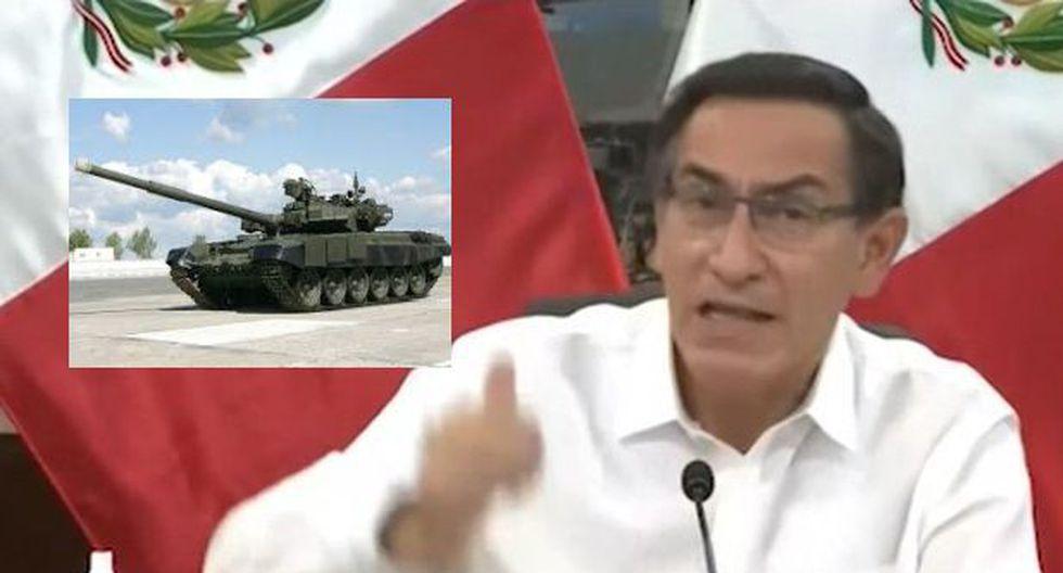 Presidente Vizcarra enfureció y se refirió con tanques en las calles y la obediencia de la gente | Trome