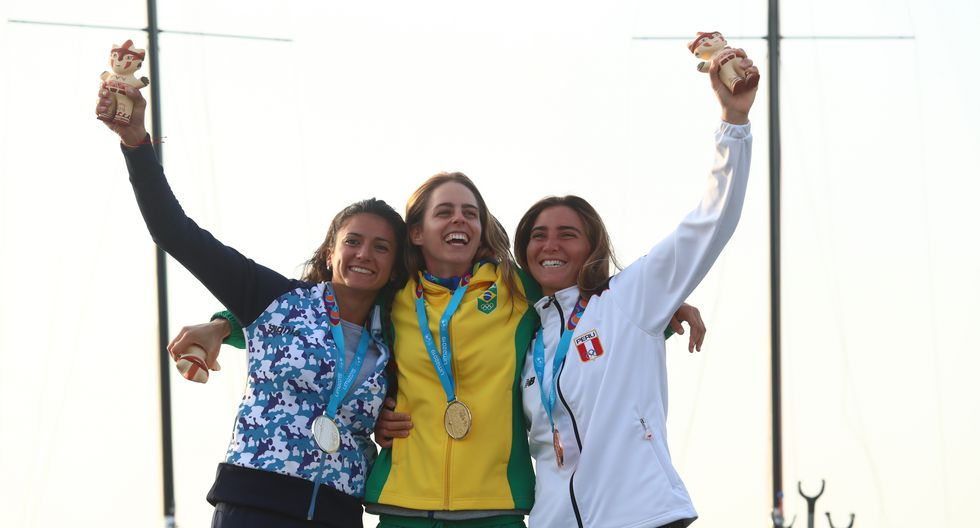 María Belén Bazo: Medalla de bronce en Vela. (Foto: Alessandro Currarino / GEC)