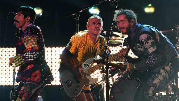 Red Hot Chili Peppers anuncian gira mundial con arranque en Sevilla en junio. (Foto: AFP).