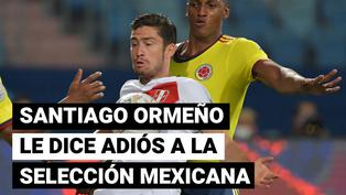 Santiago Ormeño le dice adiós a la selección mexicana  tras debutar en Copa América