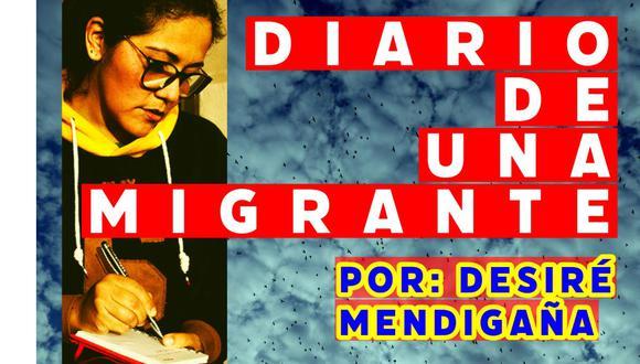 Diario de una migrante, por Desiré Mendigaña.