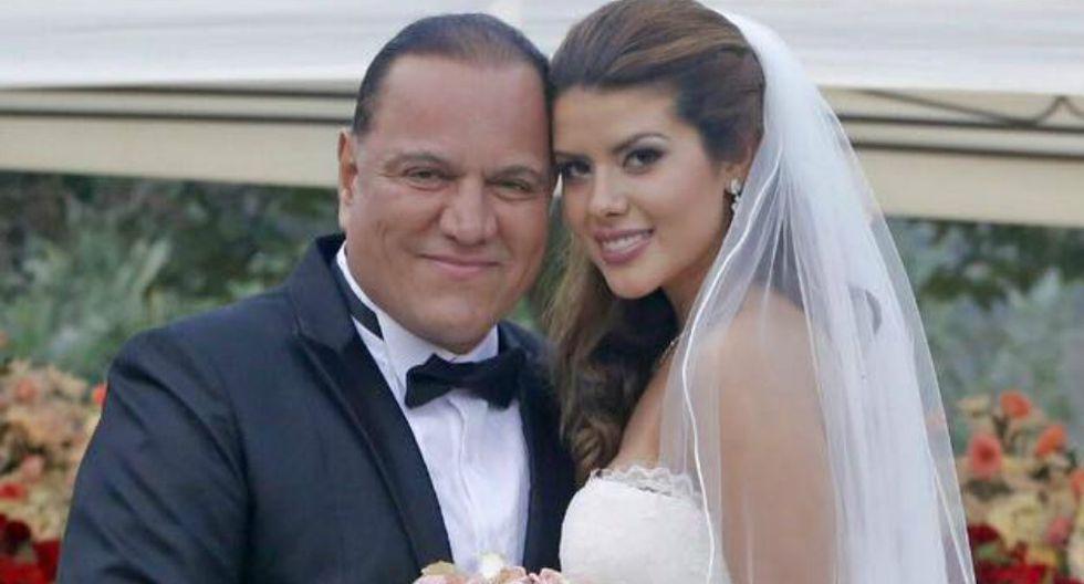 Mauricio Diez Canseco se casó con modelo veinteañera Antonella De Groot en una ceremonia que se realizó en estricto privado.