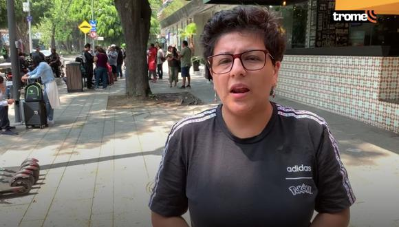 Ariana Bolo Arce quedó varada en México