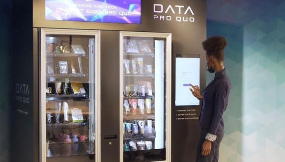 Data Pro Quo, la máquina expendedora en la que el dinero son los datos personales.| Foto:Shackleton