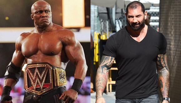 Bobby Lashley le ofrece una oportunidad por el título de WWE a Batista (Instagram)