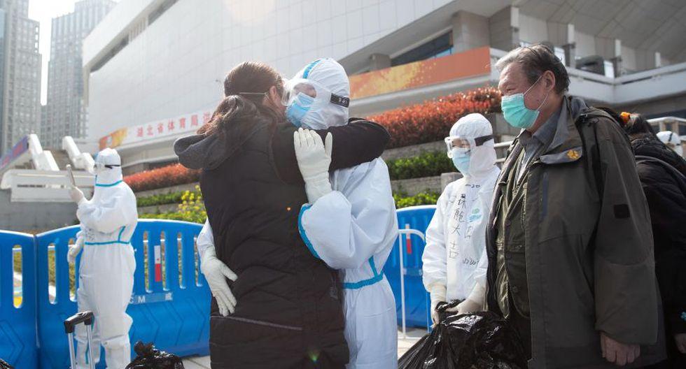 Autoridades sanitarias chinas comunicaron que este miércoles no registraron ningún caso nuevo del nuevo coronavirus en la provincia de Hubei. (AFP).